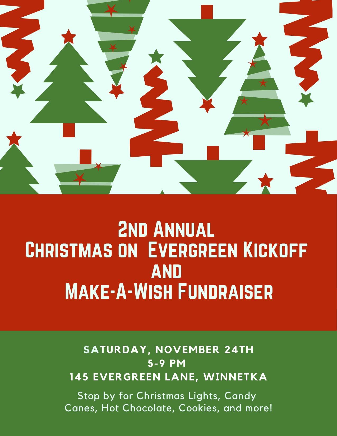 Evergreen Christmas.Christmas On Evergreen